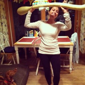 Giant Italian squash.